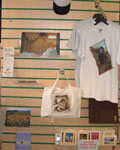 Printed T-shirts, bags, mouse mats, jigsaws . .