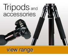 Tripods, Grilla pods, stayon cases